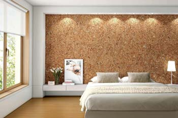 Cork Board Wall.