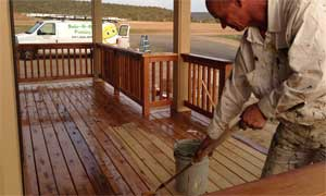 Wood Staining