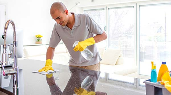 which cleaning products are safe to use on marble