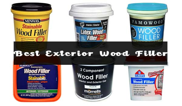 best exterior wood fillers