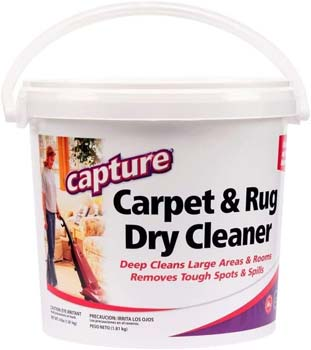 Capture Carpet Dry Cleaner Powder 4 lb