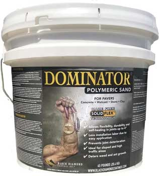 DOMINATOR Polymeric Sand With Revolutionary Solid Flex