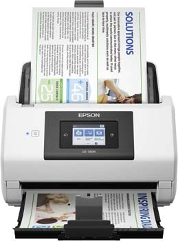 Epson DS-780N Network Color Document Scanner for PC and Mac