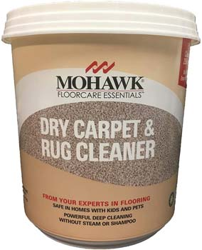 New Mohawk Floorcare Essentials Dry Carpet and Rug Powder Cleaner 2.5 Lbs