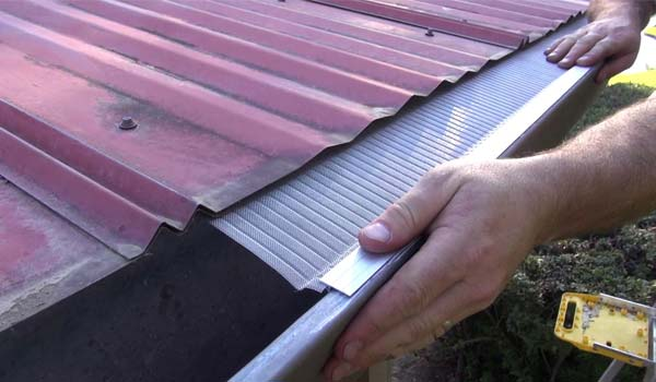 best gutter guards for metal roof