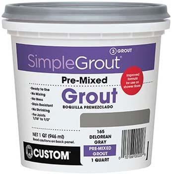 Custom, Bright White SimpleGrout PMG381QT