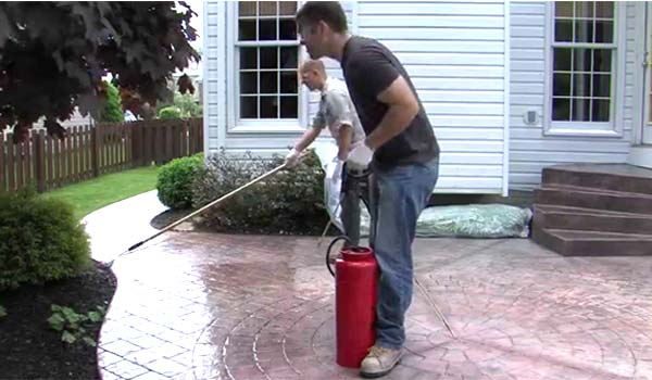 best concrete sealer sprayer