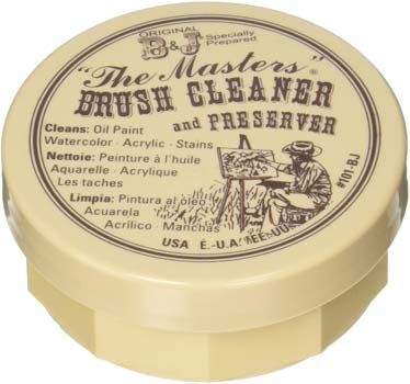 General Pencil Masters Brush Cleaner for Oil Paint