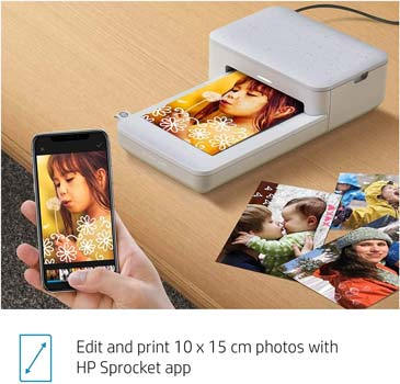 HP Sprocket Studio Photo Printer 3MP72A