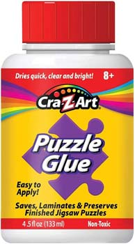 Jigsaw Puzzle Glue with Applicator