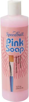 Pink Soap 12-Ounce Brush Cleaner