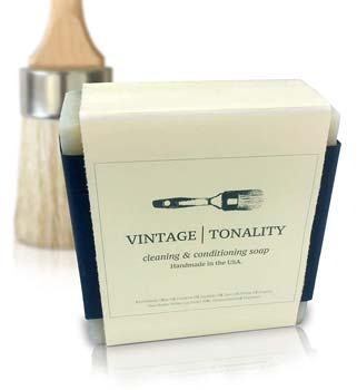 Vintage Tonality Paint Brush Cleaner